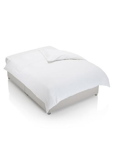 Marks & Spencer Kolay Ütülenebilen Saf Egyptian Cotton (Mısır Pamuğu) Yorgan Kılıfı Beyaz